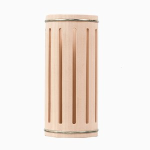 Stilio Tall Hinoki Cypress Vase by Buzzo-Lambertoni for Hands on Design