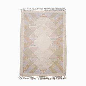 Flach gewebter Rölakan Aniara Teppich von Anna Johanna Ångström für Axeco, 1960er