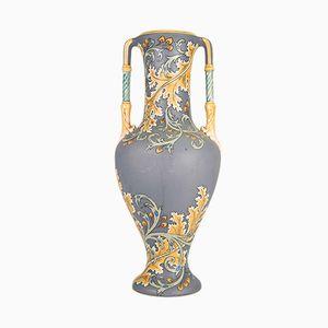 Jugendstil Vase von Mettlach/Villeroy & Boch, 1900er