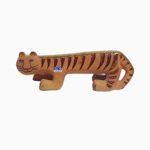 Ceramic Tiger by Lisa Larson for Gustavsberg, 1970s