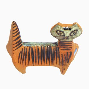 Ceramic Cat by Lisa Larsson for Gustavsberg, 1970s