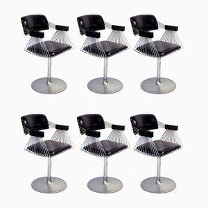 Delta Esszimmerstühle von Rudi Verelst für Novalux, 1970er, 6er Set