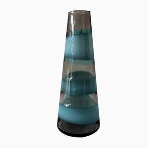 Vase Horizontal Fasce par Fulvio Bianconi pour Venini, 1950s