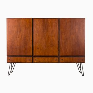 Palisander Highboard with Hairpin Legs, 1960s