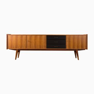 Nussholz Furnier Sideboard, 1960er