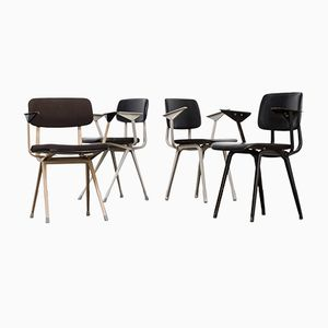 Bürostühle von Friso Kramer für Ahrend De Cirkel, 1960er, 4er Set