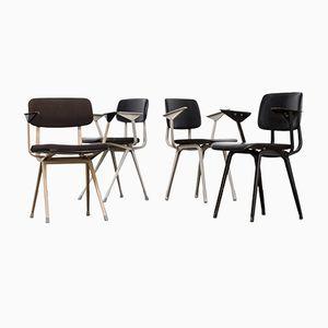 Chaises de Bureau par Friso Kramer pour Ahrend De Cirkel, 1960s, Set de 4