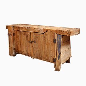 Wooden Worktable, 1920s
