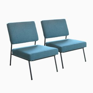 Französische Mid-Century Stühle von Pierre Guariche für Airborne, 2er Set