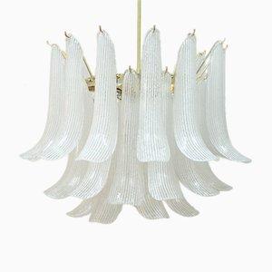 Italienischer Mid-Century Murano Glas Kronleuchter