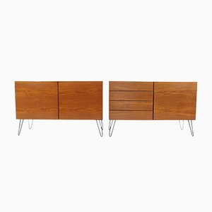 Mid-Century Teak Sideboards by Ib Kofod-Larsen, Set of 2