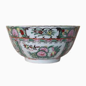 Antike chinesische Bowle Schüssel aus Porzellan