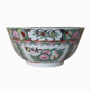 Antique Chinese Porcelain Punch Bowl