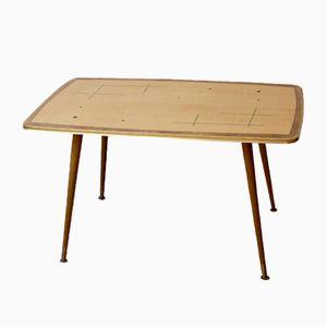 Table Basse avec Plateau à Motif, 1950s