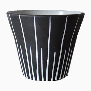 Keramik Blumentopf, 1950er