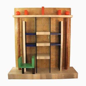 Naomi Bookcase by Ettore Sottsass for Meccani Arredamenti, 1980s