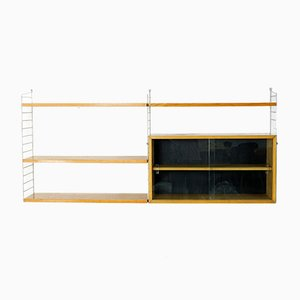 Ash Shelving System by Kajsa and Nisse Strinning for String, 1950s