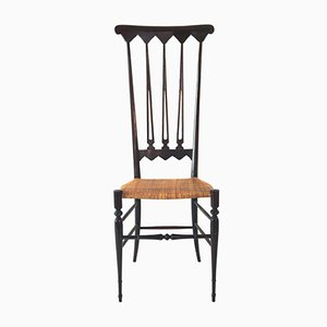 Holz Esszimmerstühle von Gio Ponti, 1970er, 2er Set