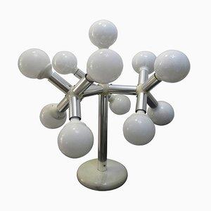 Italienische Mid-Century Sputnik Tischlampe, 1970er