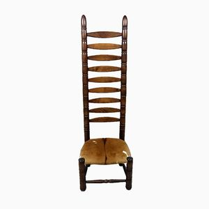 Chaise d'Appoint Izard Hide, 1960s