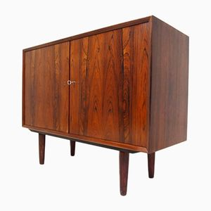 Credenza in palissandro di N P Nielsen per Sejling Skabe, Danimarca, anni '60