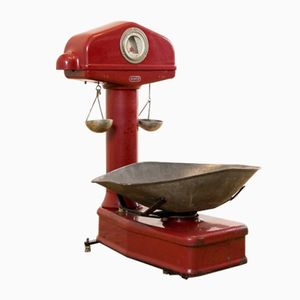 Mid-Century Red Scale from Berkel