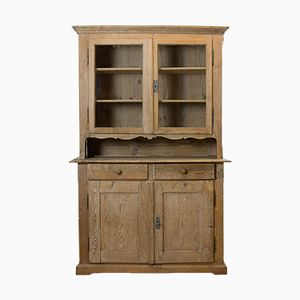 Antique Bleached Pine Cupboard