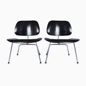 Vintage LCM Chairs by Charles & Ray Eames for Herman Miller, Set of 2