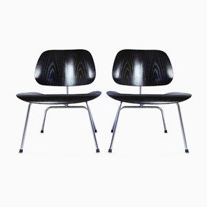 Vintage LCM Chairs von Charles & Ray Eames für Herman Miller, 2er Set