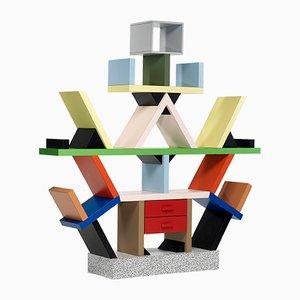 Carlton Bücherregal von Ettore Sottsass für Memphis, 1980er