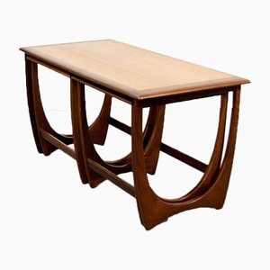 Coffee Table with Nesting Tables by Victor Wilkins for G-Plan, 1960s
