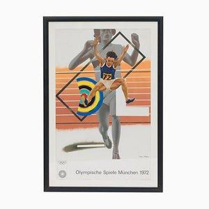 Poster des Jeux Olympiques par Peter Phillips, 1972