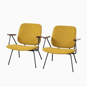 Lounge Chairs by Willem Hendrik Gispen for Kembo, 1950s, Set of 2