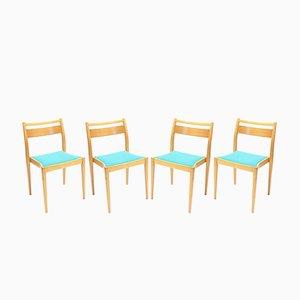 Chaises Empilables par Axel Larsson pour Gemla, 1950s, Set de 4