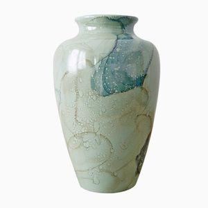 Grüne Vase von Scheurich, 1960er