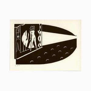 Spiegelungen, Ed. 230 par Gerd Arntz pour Panderma, 1970s