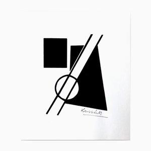 Art Print by Lajos Kassak for Panderma, 1977