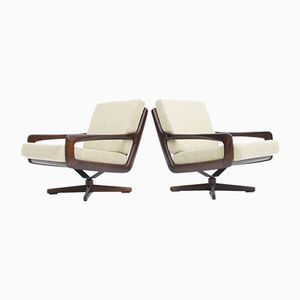 Swivel Lounge Chairs by Eugen Schmidt, 1960s, Set of 2