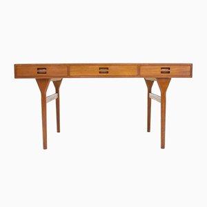 Danish Teak Desk by Nanna Ditzel for Søren Willadsen, 1960s