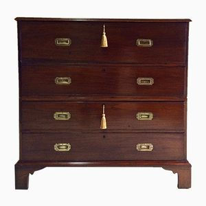 Victorian Mahogany Chest of Drawers & Secretaire