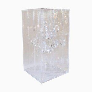 Italienische Plexiglas Collone A Skulptur von Martha S. Boto für Denise René, 1968