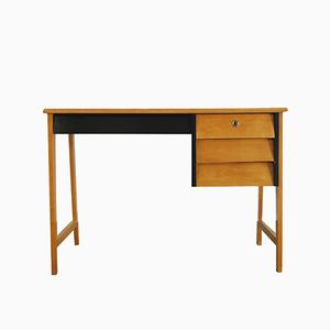 Modernist Beech Desk, 1960s