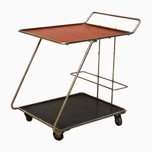 Chariot Bar Cart by Mathieu Matégot, 1950s