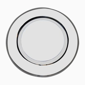 Circular 2-Toned Mirror, 1960s
