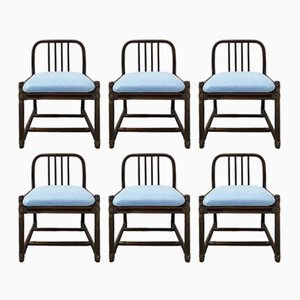 Chairs from McGuire, 1970s, Set of 6