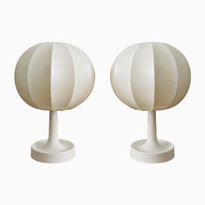 Salbo Cocoon Tischlampen von Goldkant, 1960er, 2er Set