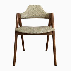 Compass Chair aus Teak von Kai Kristiansen für SVA Møbler, 1960er