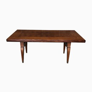 Art Deco French Marquetry Dining Table