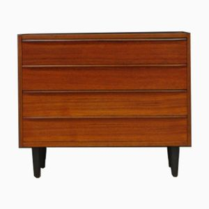 Vintage Danish Teak Veneered Chest of Drawers