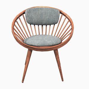 Skandinavischer Vintage Sessel von Yngve Ekström, 1960er
